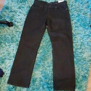 nwt womens black Calvin Klein Jean's sz 18